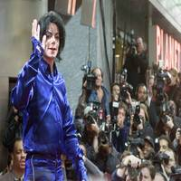 Michael jackson in ny s times square
